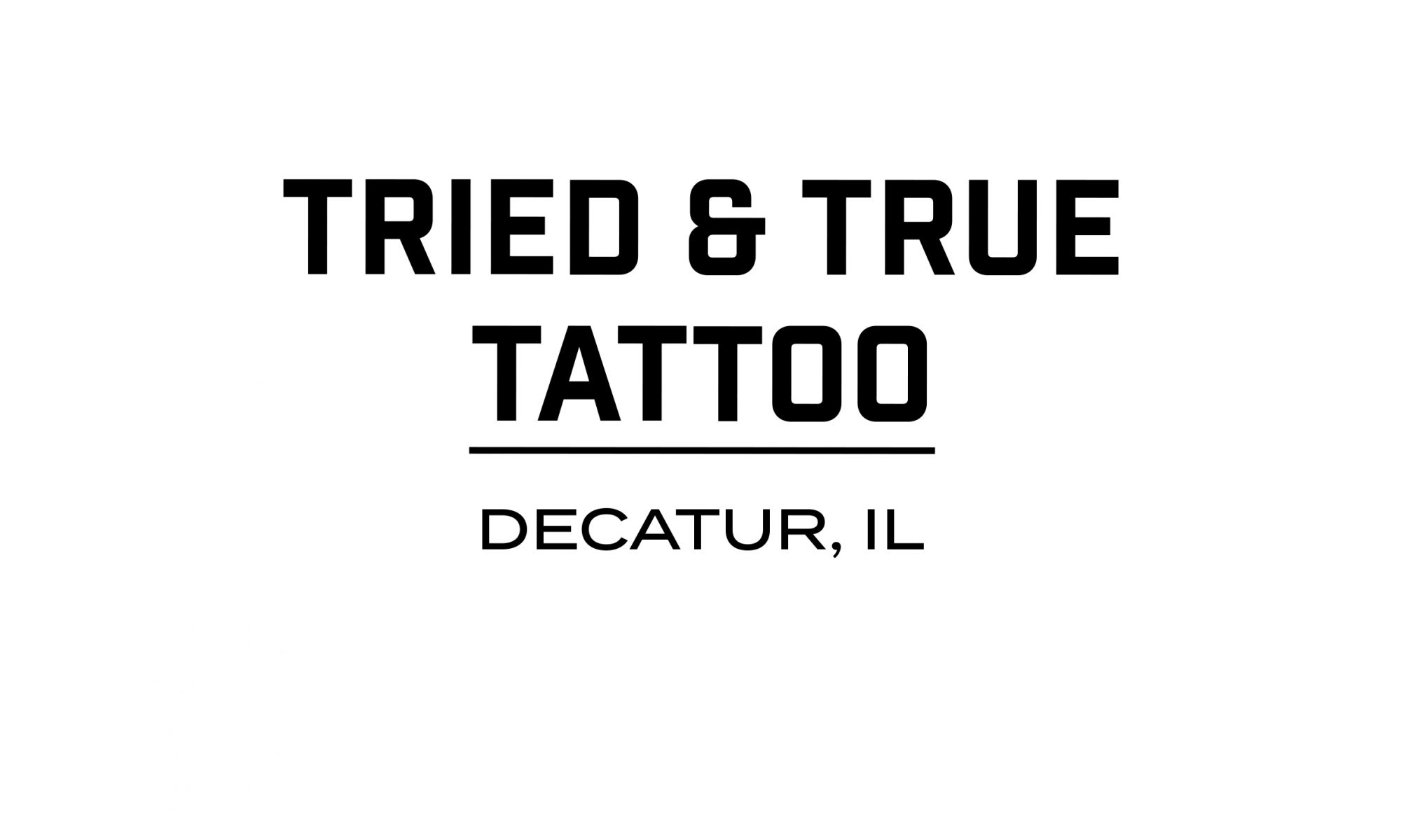Tried & True Tattoo